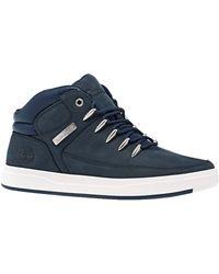 Timberland Davis Square Sneaker Boots 45.5 EU Navy Nubuck - Bleu