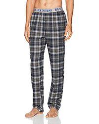 Ben Sherman - Flannel Logo Pant - Lyst