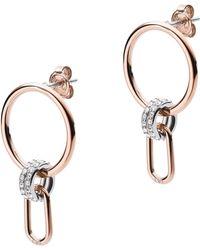 Emporio Armani EGS2732221 Boucles d'oreilles pour femme - Multicolore
