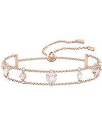 Swarovski Bracelet One, Multicolore - Rose