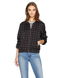 Calvin Klein - Bomber Jacket With Heat Set - Lyst