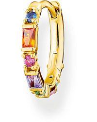 Thomas Sabo Créole pierres colorées or Argent Sterling 925 - Multicolore