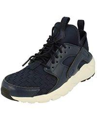0674b1098492 Nike   s Air Huarache Run Ultra Shoes in Gray for Men - Lyst