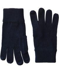 Tommy Hilfiger Pima Cotton Gloves, - Blue