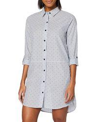 Esprit Corrie CAS NW 2 Nightshirt Nachthemd - Blau