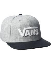 Vans Drop V Ii Snapback - Grey
