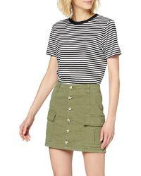 Superdry Alchemy Cargo Mini Skirt Jupe - Vert