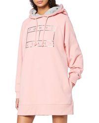 Tommy Hilfiger - Tjw Logo Hoodie Dress - Lyst