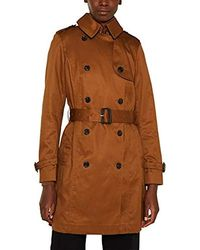 Esprit Collection Abrigo para Mujer - Marrón