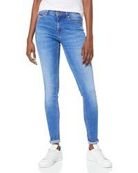 Tommy Hilfiger Hilfiger Denim Mujer MID RISE SKINNY NORA AZLB Skinny Jeans - Azul