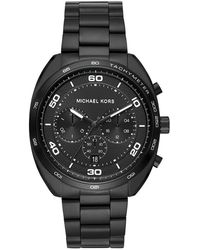 Michael Kors Uhr Chronograph Dane MK8615 - Schwarz