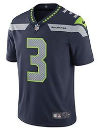 Nike Nfl Seattle Seahawks (russell Wilson) Limited Vapor Untouchable Football Jersey Size S (college Navy) - Blue