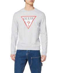 Guess - Audley CN Fleece Sweatshirt à Capuche - Lyst