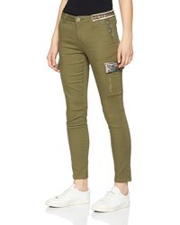 Desigual Pant_Narcissus Pantalon - Vert