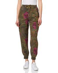 Desigual S BALIBAY Casual Pants - Grün