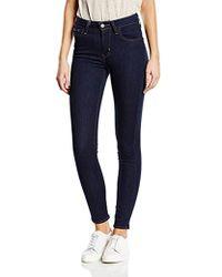 Levi's 721 High Rise Skinny Jeans Donna - Blu