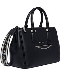 Replay Fw3898.000.a0132d 's Top-handle Bag - Black
