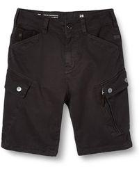 G-Star RAW Roxic Pantalones Cortos - Negro