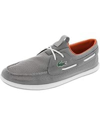333dcae96 Lyst - Lacoste L.andsailing Boat Shoe in Blue for Men