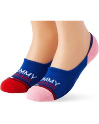 Tommy Hilfiger Tommy Jeans Show Mid Cut Socks - Multicolor