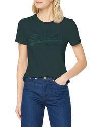 Superdry - VL Tonal Emb tee Camiseta - Lyst