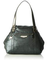 f1eaf5dd93b2 Longchamp Op art Tote Bag in Red - Lyst