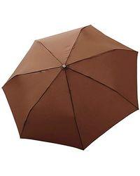 Bugatti Take it Duo Umbrella Uni Coconut - Marrone
