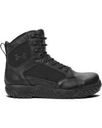 Under Armour Stellar Tactical Protection, Chaussures de Voile Homme - Noir