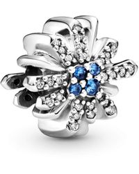 PANDORA Argent Charms et perles - 797518NCB - Métallisé