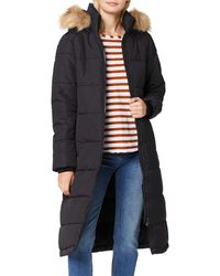 Superdry Longline Quilted Everest Jacket Chaqueta - Negro