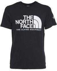 The North Face SS Fine Alp Tee 2 - Black (S) - Nero