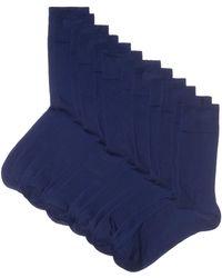 HIKARO Chaussettes pour - Bleu