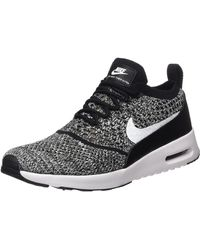 Nike Air Max Thea Ultra Flyknit Trainers - Black