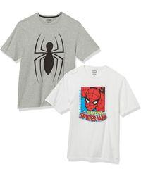 Amazon Essentials Loose-Fit Crewneck T-Shirt Fashion - Blanc
