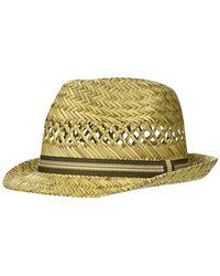 Burton Menswear London Weave Trilby Hat