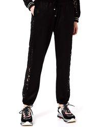 Liu Jo Liu-Jo Sport Pantalone Tuta Donna MOD. TA0120F0809 Nero S