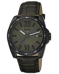 Esprit Analog Quarz Uhr mit Edelstahl Armband ES103601003 - Schwarz