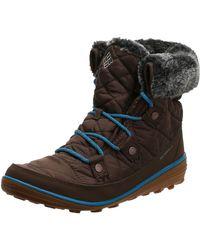Columbia Heavenly Shorty Omni-heat Snow Boot - Brown