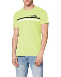 Superdry - Core Logo Sport Stripe Tee T-shirt - Lyst