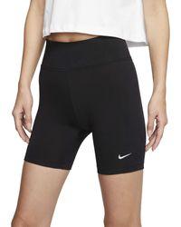 Nike Leg-A-See Shorts - Schwarz