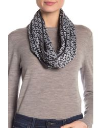Michael Kors S S Collection Logo Knitted Long Scarf Muffler Grey - Multicolour