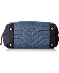 DIESEL DE-Mixer Stitch AQUIRA Beautycase Denim - Blau