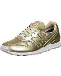 New Balance 996 W Shoes - Metallic