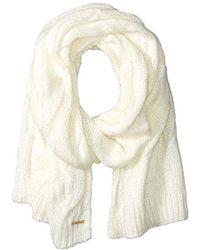 Nine West - Large Cable Scarf - Lyst