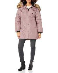 Steve Madden Womens Parka Outerwear - Pink