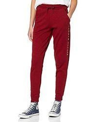 Tommy Hilfiger Cuffed Pant Pantalon - Rouge
