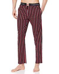 Calvin Klein Sleep Pant Calzamaglia Termica - Nero