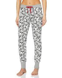 Esprit 107ef1y086 Pyjama Bottoms - White