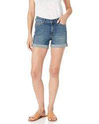 Amazon Essentials Vaqueros cortos para mujer de 12,7 cm. - Azul