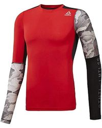 dc6b34af Activechill Graphic Long Sleeve Compression Tee - Black